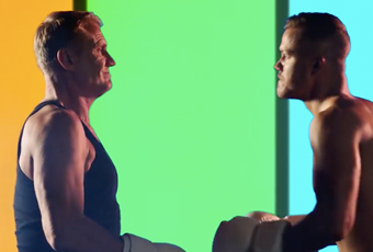 Imagine Dragons boxe dans le clip de Believer