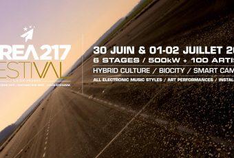 Gagne tes places pour le festival Area217