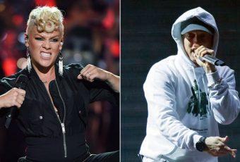 Saoul, Pink envoie un email à Eminem afin de lui demander un feat. Découvrez son incroyable réponse !