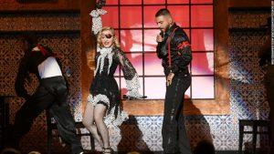 Madonna en concert à Paris en 2020 au Grand Rex