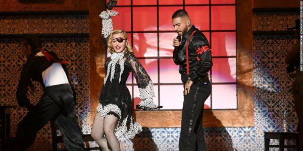 Madonna en concert à Paris en 2020